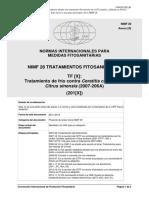2007-206A_DraftCTCeratitisCapitataCitrusSinensis_Es_2016-12-23