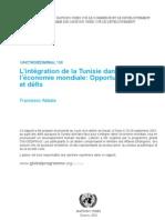 L'intégration de la Tunisie dans l'economie mondiale