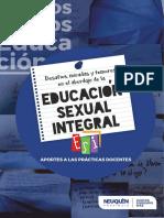 Cuadernillo Docente. ESI Neuquén.pdf · versión 1