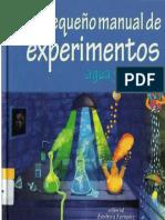 (Colombia) Agua y Luz. Mi pequeño manual de experimentos. Editorial Zendrera Zariquiey