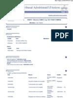 Tribunal administratif - Dossier n°0900977 - 14 avril 2009