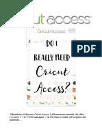 Cricut Access yes or no