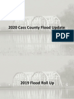 Cass County Flood Update  2/18/20