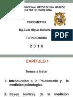 PSICOMETRIA - CAP 1 - INTRODUCCION A LA PSICOMETRIA