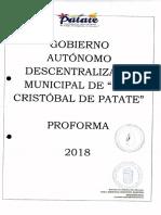 ORDENANZA PRESUPUESTO 2018
