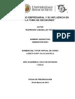 trabajoelentornoempresarialysuinfluenciaenlatomadedecisiones-140607224018-phpapp01