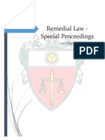 Special Proceedings CASES