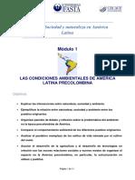 Módulo 1 - Taller de Sociedad y Naturaleza en América Latina  co