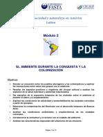 Módulo 2 - Taller de Sociedad y Naturaleza en América Latina