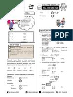 Razonamiento Matemático- Pre-cuarto