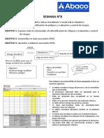 CLASE 08 - IPERC Identificación de peligros y evaluación y control de riesgos..docx