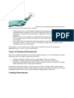 surgical instruments for a procedure.docx