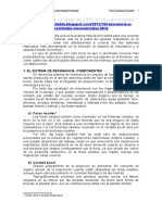 EL SISTEMA DE RESONANCIA Y EL APARATO FONADOR