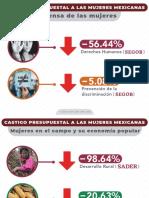 Castigo Presupuestal a Mujeres - PRI Sonora