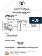 worksheet for Ranking of Teacher I position.docx