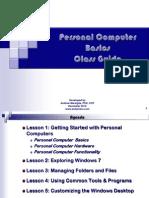 PC Basics Win 7 Class Guide 120410