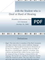 Deafness.ppt