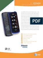 Ces Datasheet Xenon DS