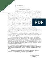 affidavit of witness.docx