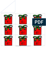 Staff Notes on Presents