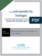 1a. Guías de Estudio por Sección, Construyendo Su Teología.docx