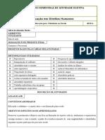 Plano Semestral de Atividade Eletiva EEMTI 2018.1