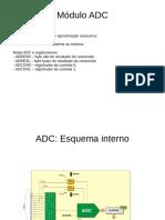 ADC module microcontrollers