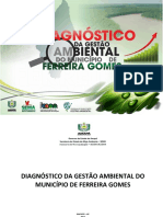 Diagnostico Ambiental Ferreira Gomes