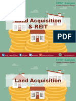 Land Acquisition and REIT.pptx