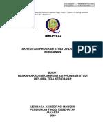 Buku 1 - Naskah Akademik Akreditasi PS Diploma Tiga Kebidanan