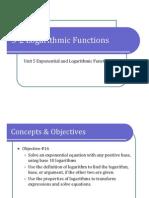 5-2 Logarithmic Functions (Presentation)
