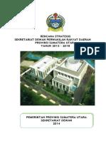 renstra-sekretariat-dprd-provinsi-sumatera-utara