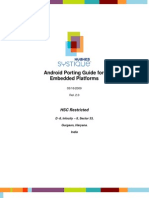 Android Porting on Embedded Platform v2 0633850602027036930