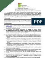 Edital Ensino Tecnico 2011-1 Maracanau-1