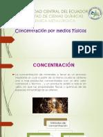 Concentración de metales por medios físicos.pdf