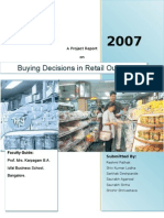Buying Decisions- Project Report