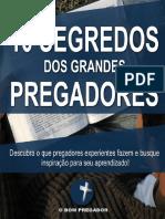 Ebook 10 Segredos dos Grandes Pregadores
