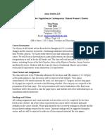 Yue Opera Syllabus (revised)[1]