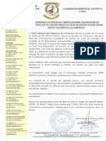 Communiqué Final ONMC (Français Anglais)