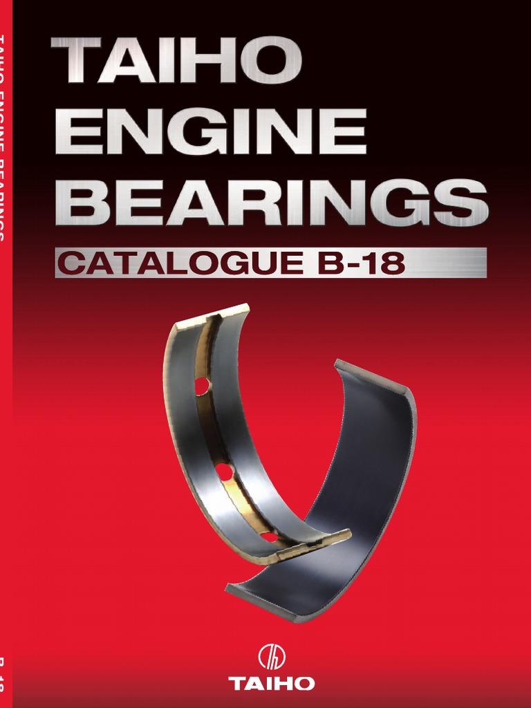 Genuine Hyundai 21020-22952 Crankshaft Bearing Set