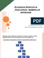 Ecografia Doppler in ateroscleroza  membrelor inferioare