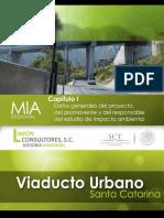 Manifestacion de Impacto Ambiental Del Proyecto Viaducto Urbano Santa Catarina