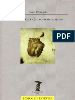 D Angelo, Paolo. - La Estetica Del Romanticismo [1999].pdf