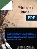 Brand Management 14 Sep