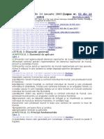 CODUL MUNCII LEGEA 53-2003