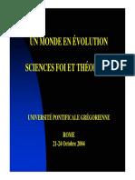 Dambricourt-Malassé, Anne - Un monde en évolution