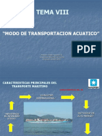 TEMA 8 TRANSPORTE MULTIMODAL Version 2010 CAP