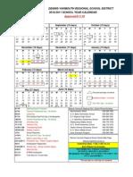 10-11 Sch. Calendar