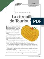 La citrouile de Tourlourou
