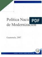 Política Nacional de Modernización
